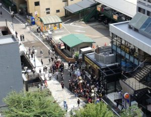 2016年7月24日 柿木畠商店街のお祭り